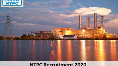Photo of NTPC Recruitment 2020 Apply Online Now| 123 Vacancies